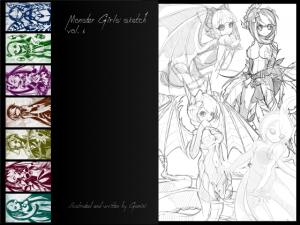 Monster Girls Sketch Vol.01