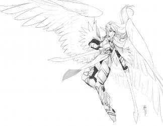 angel 8.5 x 11