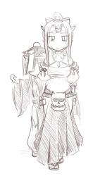 monster - A Ochimusha and a Jiangshi