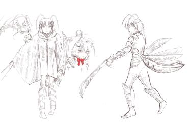 monster - Anonymoose Saga minte profile 1 - 10 cloak nocolour