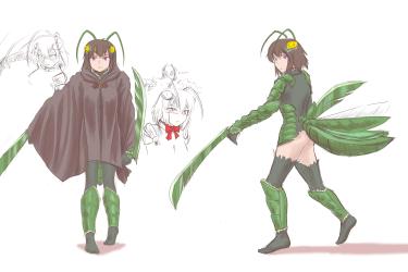 monster - Anonymoose Saga minte profile 1 - 10 cloak