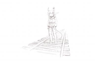 monster - Holstaur Train