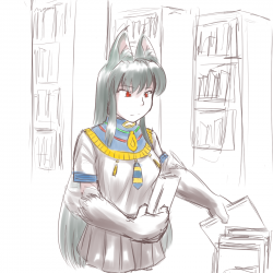 monster - Library Anubis 1