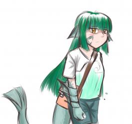 monster - Sahuagin girl
