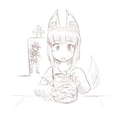 monster - anubis daughter cookie jar