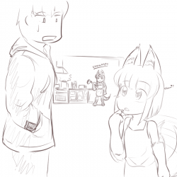 monster - anubis daughter dads home