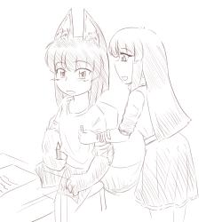 monster - anubis daughter friend