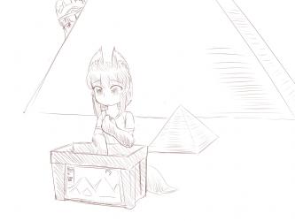 monster - anubis daughter pyramid