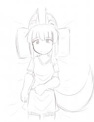 monster - anubis daughter resting