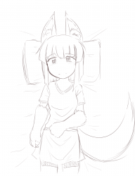 monster - anubis daughter resting