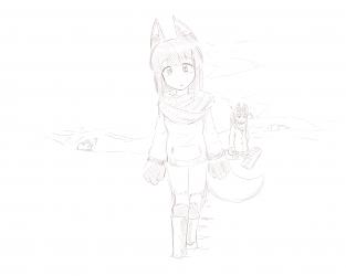 monster - anubis daughter snowed in