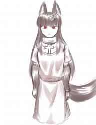monster - anubis winter scarf quick