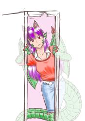 monster - dragon bully cyoa peeping Elle 1 - 7a