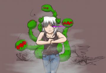 monster - fighting Trish 1 - 3