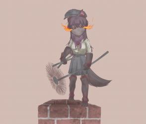 monster - hellhound chimney sweeper