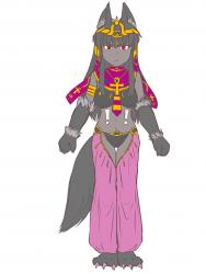 monster - hellhound style Anubis 1 - 5a