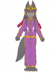 monster - hellhound style Anubis 1 - 7