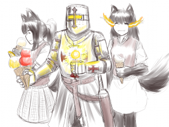 monster - ice cream