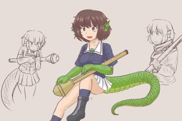 monster - lizardman Yukari