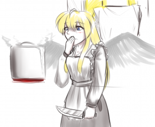 monster - motherly angel