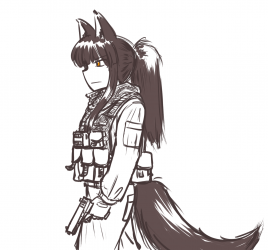 monster - operator wolf