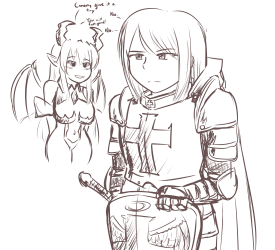 monster - paladin girl woes