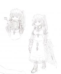 monster - shoggymora sketches