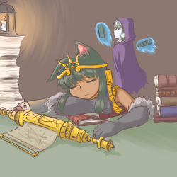 monster - sleepy anubis
