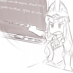 monster - teaching anubis