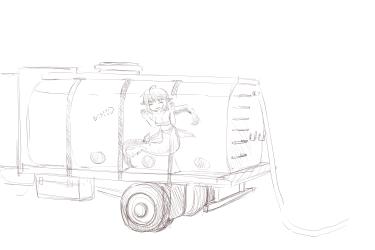monster - travelling mershark