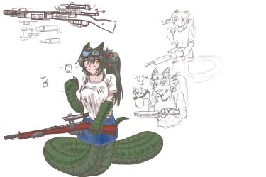 monster - wurm Zoe the engineer 1 - 6