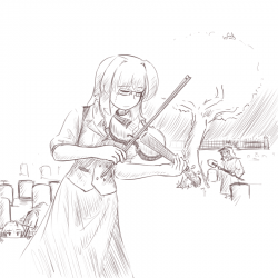 monster-lich-elisabeth-playing-the-violin