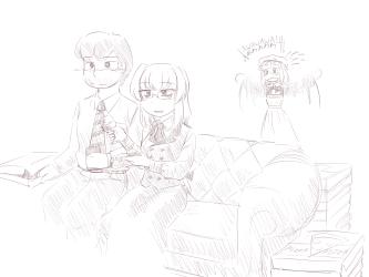 monster - lich, movie watching