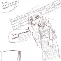 monster - lich, teasing Elisabeth